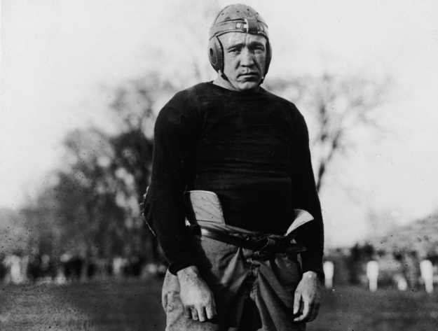 Knute Rockne In Football Uniform
